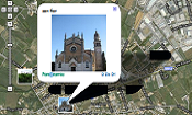 Immagini del territorio con Panoramio e Google Maps