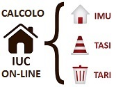 Calcolo on-line IUC: IMU e TASI (Imposta Municipale Propria e Tassa sui Servizi Indivisibili) [Link esterno al sito - Apertura nuova finestra]